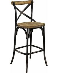 wood and iron bar stools. Brilliant Iron Rustic Iron Bar Stool W Back Reclaimed Pine Wood Seat For And Stools Better Homes And Gardens