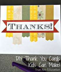 November Family Challenge Giving Thanks With Diy Thank You Cards