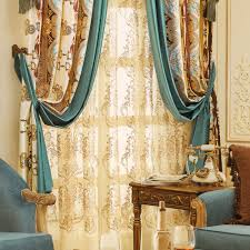 Velvet Fabric Cheap Black Out Curtains (No Valance)