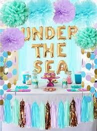 easy diy mermaid party decor ideas