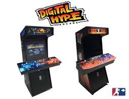 4 Player Arcade Cabinet Kit Digital Hype Arcade