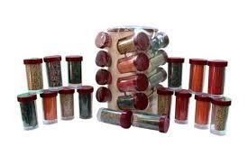 Kitchen Spice Jar Set 16 At Rs 375 Piece Shalimar Bagh Delhi