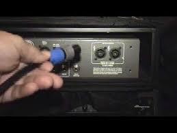ampeg s mono bridged cable and speakon connectors ampeg s mono bridged cable and speakon connectors