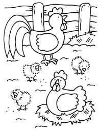 Kippenhok Kleurplaat Google Zoeken Preschool Activities Farm