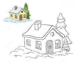 Tuyển tập 30+ mẫu tranh tô màu ngôi nhà đẹp và dễ thương - Tranh tô màu cho  bé