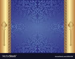 Blue And Gold Design Gold Blue Background