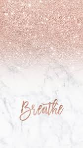 Cute Rose Gold Home Screen Girly Wallpapers