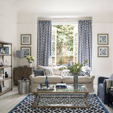 coastal living room design. Laid-back Mediterranean-style Coastal Living Room Design