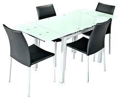 frosted glass dining table foster extending smoked tables uk