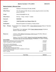 Medical Scribe Certification 73400 Medical Scribe Cover Letter