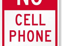 No Cell Phone Sign Printable Printable No Cell Phone Sign 2 167 X 211 Making The Web Com