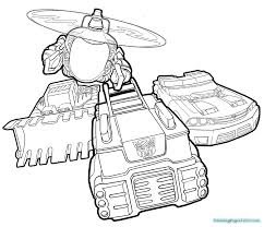 Bot Coloring Transformers Rescue Bots Coloring Pages Jerusalem House
