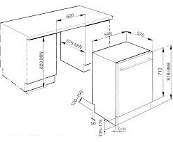 standard dishwasher dimensions. Dishwasher Sizes Dimensions Standard Size Height Width Of Full Kitchen Remodel Opening H