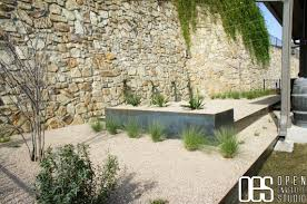 patio steps pea size x: pea  stone wall with white gravel and concrete plants for pea gravel patio design gravel patio gravel walkway cost of pea gravel gravel patio ideas pea gravel patios pea gravel crushed stone concrete block