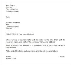Mla Business Letter Format Template Adorable Cc In Letters Examples Business Letter Format Template Sample
