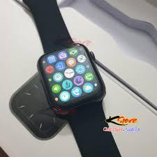Đồng hồ thông minh HW12 Smartwatch 40mm Seri 6, Thay ảnh nền, Nghe gọi, Núm  Xoay, Tiếng Việt, Chống nước IP67 - Đồng hồ thông minh Nhãn hàng No Brand