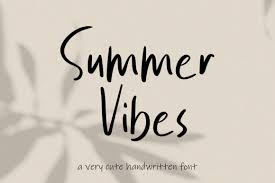 See more ideas about number fonts, printable numbers, numbers preschool. Summer Vibes Font By Mjb Letters Creative Fabrica