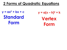 standard form quadratic equation 2 forms equations screnshoots gorgeous