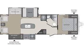 travel trailer floor plans. Keystone Bullet Premier 30RIPR Travel Trailer Floor Plan Plans