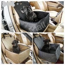 2 in 1 deluxe waterproof pet dog hammock car front seat protector mat