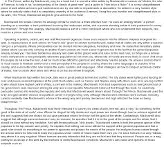 essay about the prince by machiavelli principalities thesis  the prince what s up the title shmoop