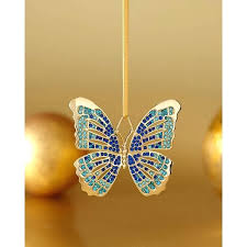 Butterfly Home Decor Accessories Butterfly Home Decor Accessorie Blue Butterfly Ornament A Liked On 45
