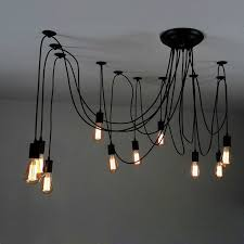 lighting for low ceiling. this matte black swag pendant light offers glamour and chic industrial style canopy mounts to ceiling junction box like any regular fixture lighting for low g