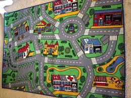 dazzling street rug innovative decoration kids road rug custom