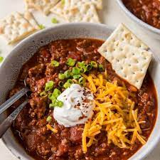 slow cooker chili recipe no beans
