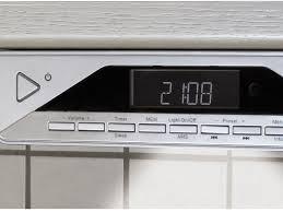 Radio For Kitchen Cabinet Ur2040 Under Cabinet Fm Dab Bluetooth Kitchen Radio Buycleverstuff