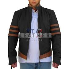fashion leather jackets x men wolverine jacket replica jacket s jacket replica