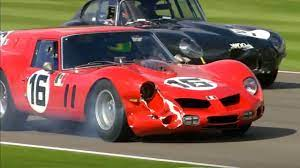 15m Ferrari 250 Damaged But Soldiers On Youtube