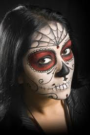daizy design face painting 40 sugar skull face paint