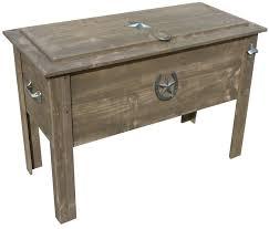 dallas cowboys ice chest qt l legs country cooler dallas cowboys wooden ice chest