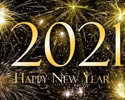 Happy New Year 2021 Yellow Hd Wallpaper ...