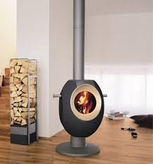 Accessories: Tonwerk Wood Stove T Eye - Hanging Fireplaces