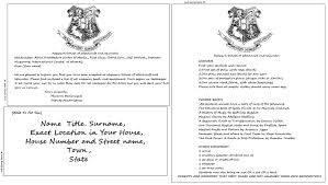Excellent And Cool Printable Hogwarts Acceptance Letter Template