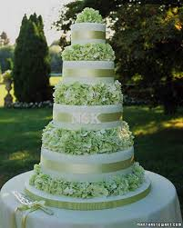 Decorating With Green Green Wedding Cakes Martha Stewart Weddings