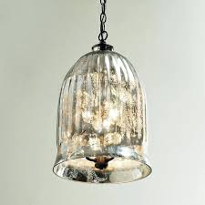 best of mercury glass pendant lights fixtures light silver