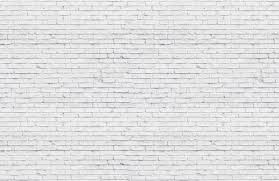 Clean White Brick Wallpaper Mural ...