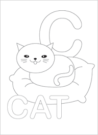 Small Picture Image Gallery Letter C Coloring Pages For Preschoolers at Best All