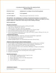 Sample Resume For Medical Receptionist Resume Sample For Front Desk Receptionist Beautiful Medical 36