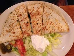 mexican food quesadilla. Modren Quesadilla La Hacienda Mexican Restaurant Spinach And Cheese Quesadilla Throughout Food Q