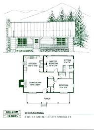 ranch log home floor plans with loft free cabin simple one story homes room full size