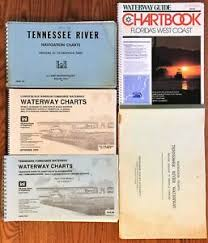 Details About Lot Of 5 Waterway Navigation Charts Tennessee Kentucky Florida Us Engineers