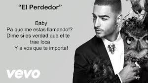 Maluma El Perdedor Video Con Letralyrics Activar Subtítulos