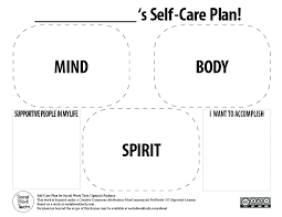 Making a Self-Care Plan for You and Your Clients! – Social Work Tech