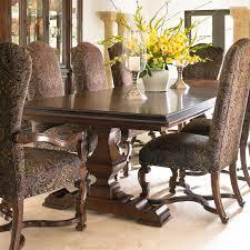 stanley dining room furniture. stanley furniture montecito grande balustrade double pedestal dining table $1700. room