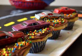 13 Race Car Cupcakes For A Birthday Party Photo Race Car Themed