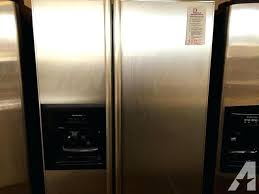 kitchenaid side by side refrigerator cu ft counter depth